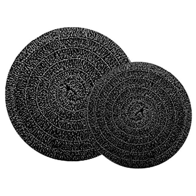 Black matala rolls matala filter media for Best pond filter media