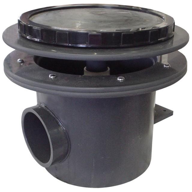 Rhino ii bottom drains rhino bottom drains for Koi pool bottom drain