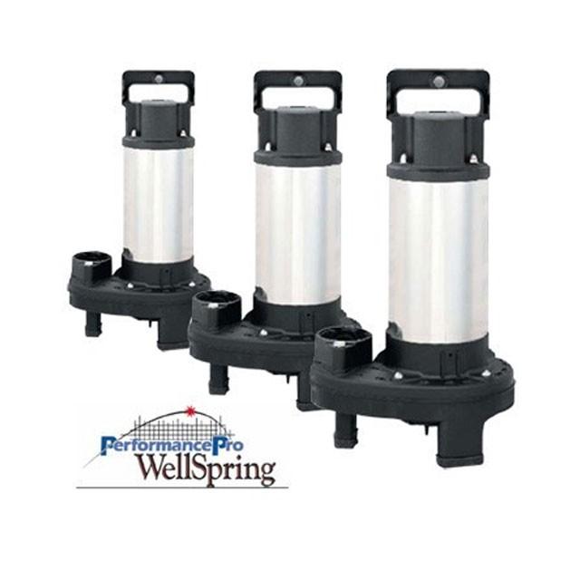 Performancepro wellspring pumps pumps external for Install external pond pump