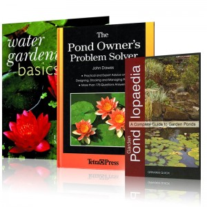 Book and DVDs Pond supplies at guaranteed lowest prices plus free shipping nationwide.  Save on pond pumps, pond filters, Air Pumps,aerators,Koi Food, UV sterilizers, Sieves,